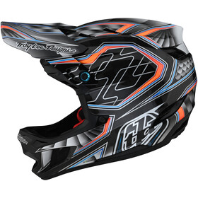 Troy Lee Designs D4 Carbon Helmet, low rider grey